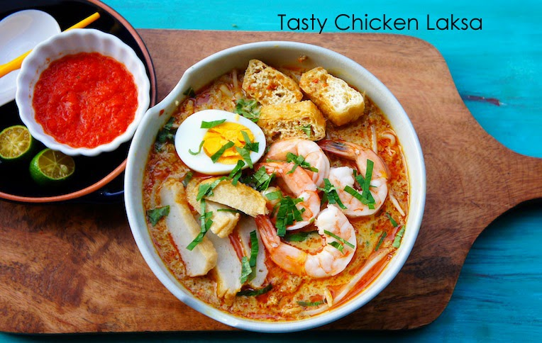 Simple recipe of tasty chicken laksa malaysian food recipes tab simple recipe of tasty chicken laksa malaysian food forumfinder Gallery