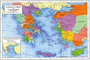 Χάρτης της ελληνικής επικράτειας