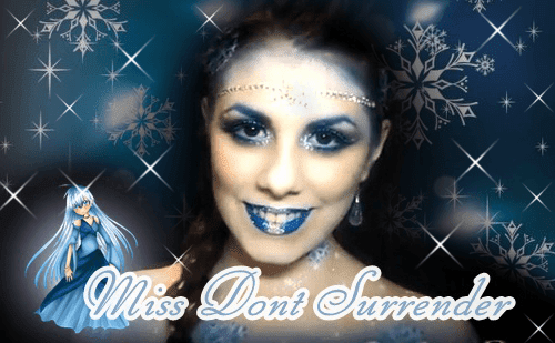 Maquillaje Princesa de Hielo por Miss Dont Surrender