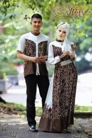 Model Baju Muslim Couple Formal Terbaru