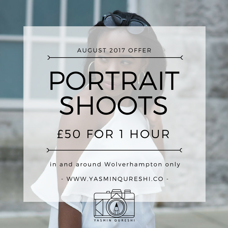 August Shoot Offer
