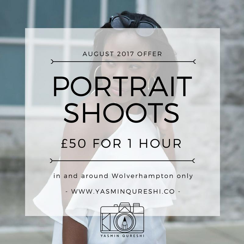 August Shoot Offer