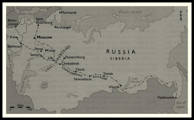 legión checoslovaca, guerra civil rusa, transiberiano
