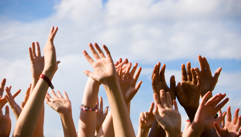Image result for hands up