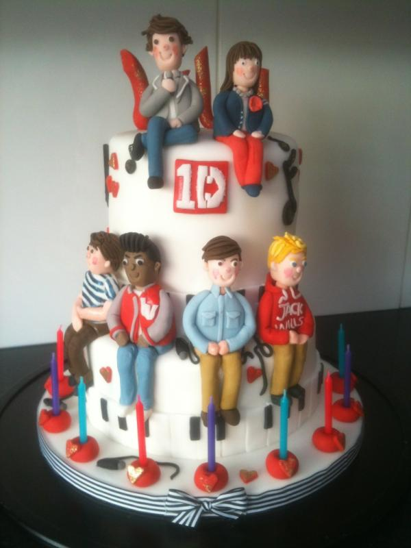Pastel de One Direction