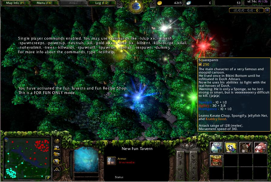 DotA 674c AI Fun V27 Map Released Download Lancraft