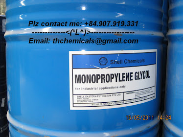 Monopropylene glycol, MPG, shell