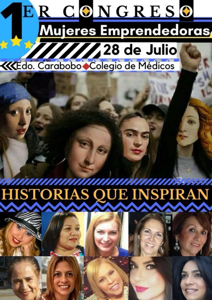 PRIMER CONGRESO MUJERES EMPRENDEDORAS HISTORIAS QUE INSPIRAN
