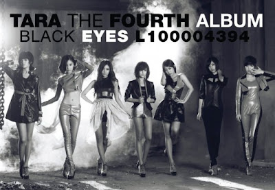 T-ara New Mini Album Black Eyes