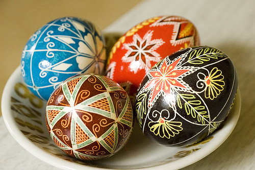 Beauty And Elegance Ukrainian Easter Traditions