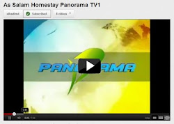 Homestay As Salam bersiaran di Rancangan Panorama RTM TV1