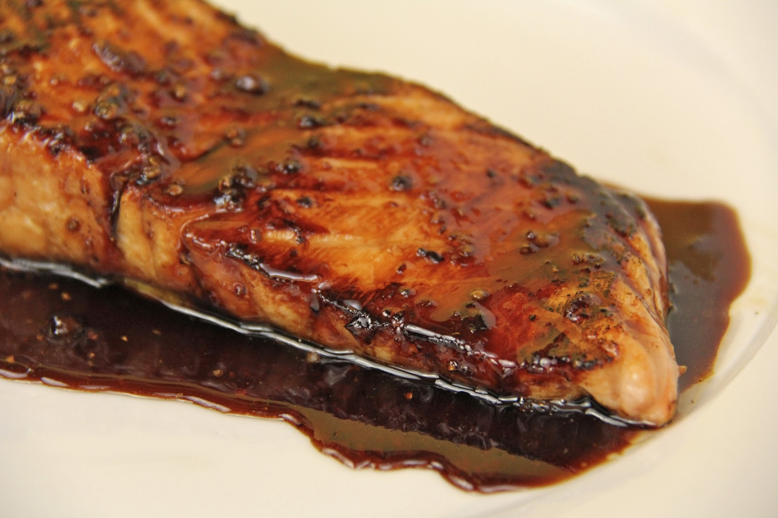 The Café Sucré Farine: Honey, Ginger & Coriander Glazed Salmon