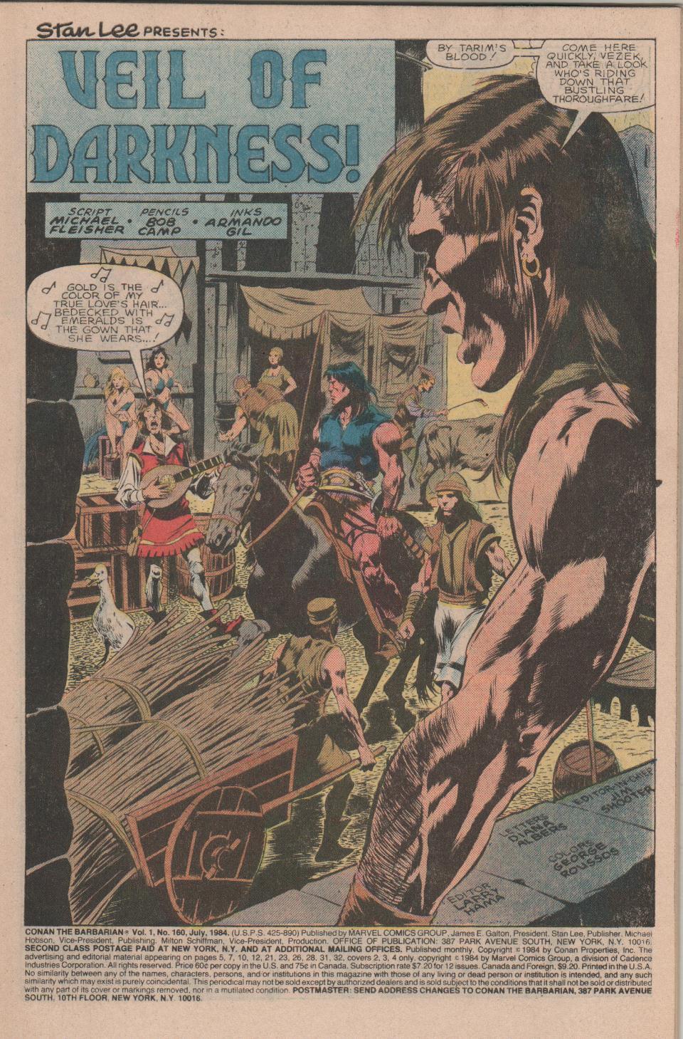Conan the Barbarian (1970) Issue #160 #172 - English 2