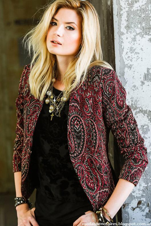 Moda otoño invierno 2014 Markova blazers y sacos sastres