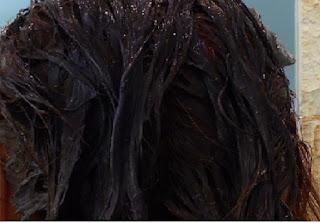 Intenzív réz hajszín festése