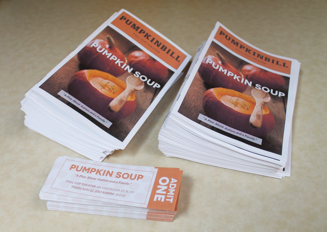 Pumpkin Soup Programs & Tickets: Designed by Lisa DeAngelo