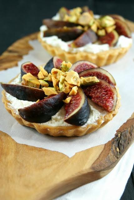 Authentic Suburban Gourmet: Fig Tarts with Honey Pistachio ...