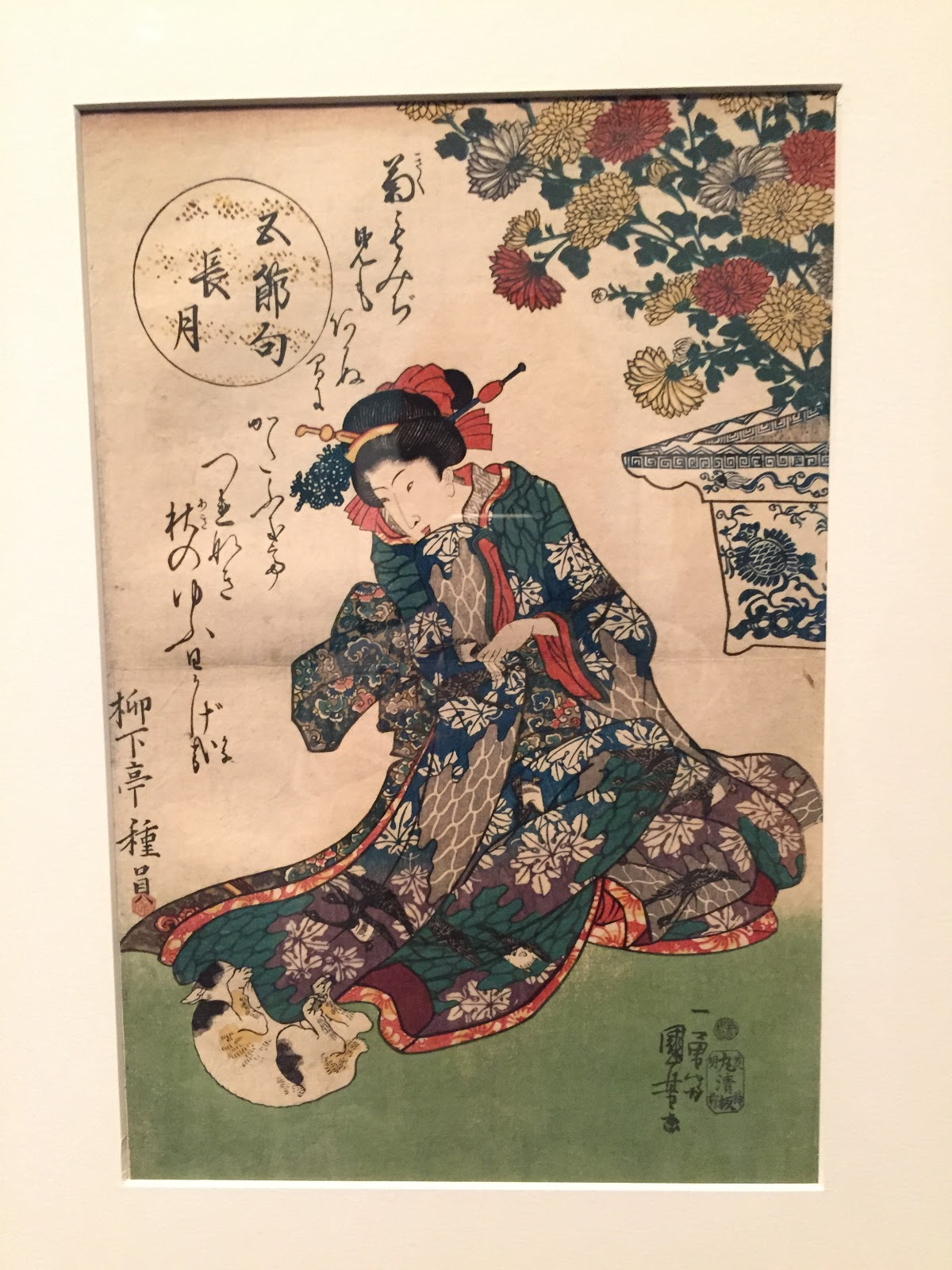 usa in wonderland: 江戸時代の猫好きに邂逅!nyジャパンソサエティー