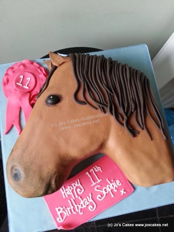 Jos Cakes Horse Themed Birthday Cake