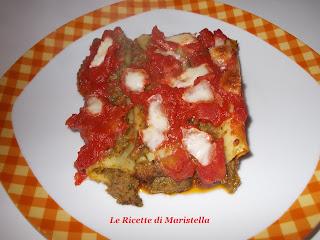 cannelloni di verdure al pomodoro senza besciamella