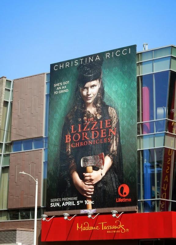 Lizzie Borden Chronicles billboard