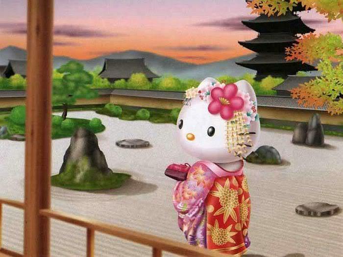 Hello Kitty Kimono Wallpaper Hello Kitty Can be Found