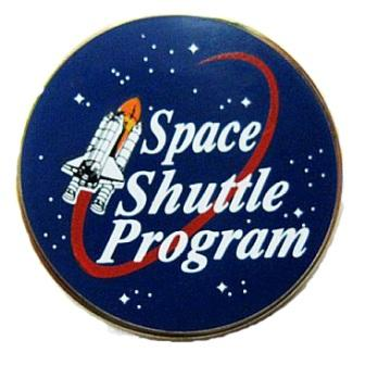 Space Patches: Space Shuttle Program Pin – Authorised by NASA