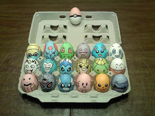 Huevos de Pascua de Pokémon