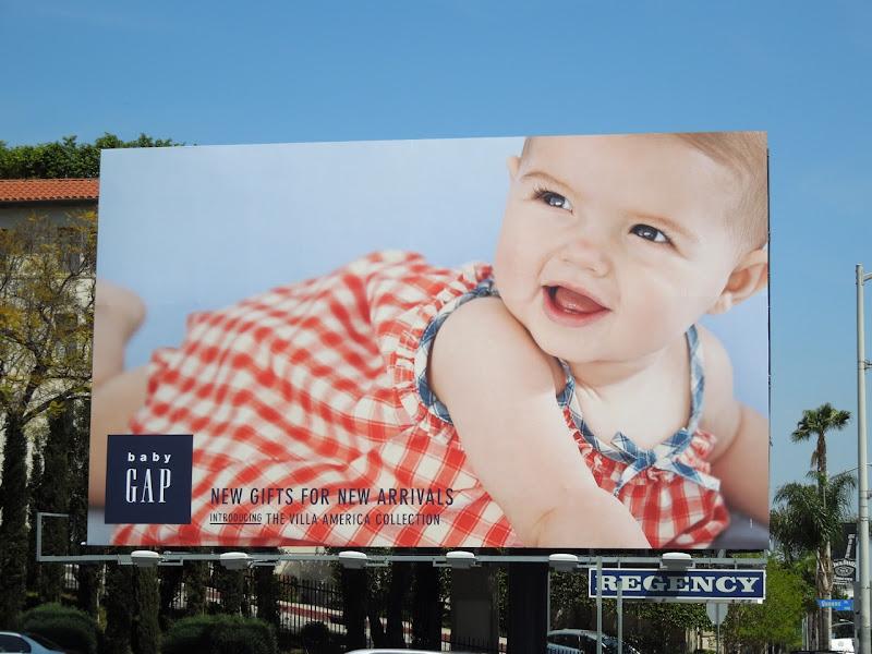 Baby Gap Villa America billboard