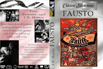 Carátula dvd: Fausto (1926) (Faust)