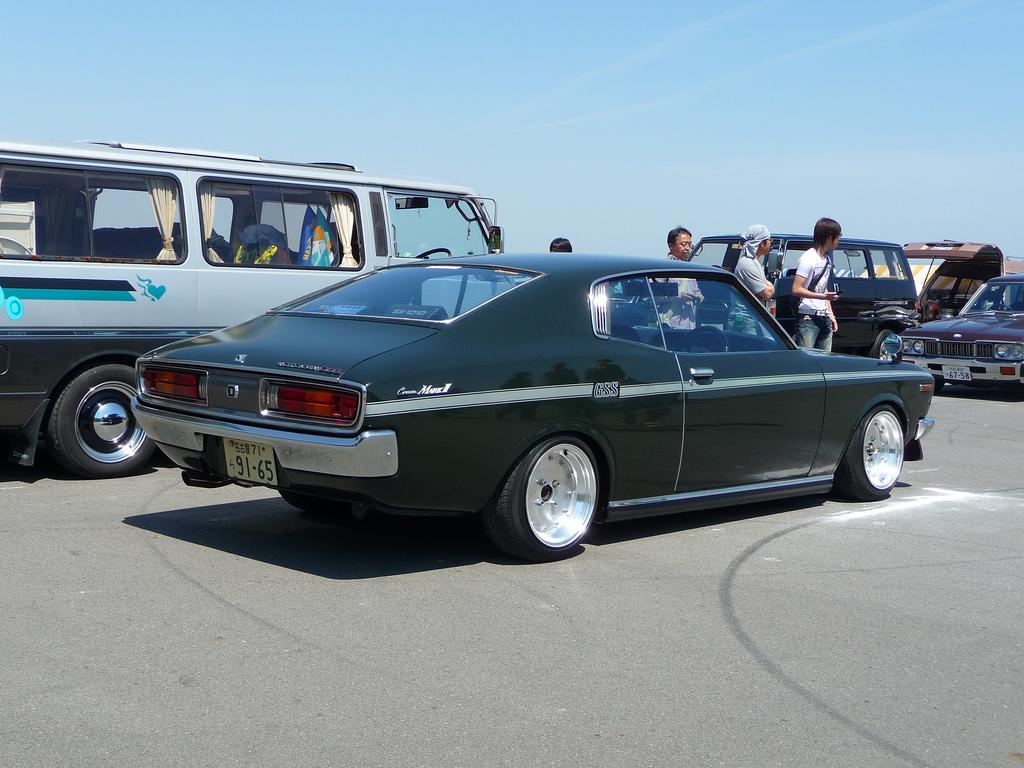 Toyota Corona Mark II X10 X20, japoński stary samochód, nostalgic, foto, photos, dawny, トヨタ, クラシックカー