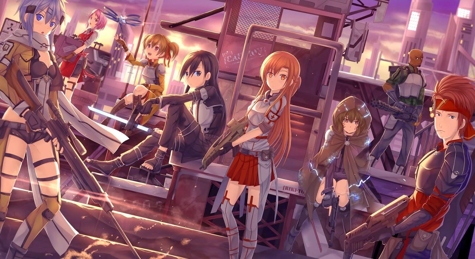 Sword Art Online II (Season 2) BD Batch Subtitle Indonesia