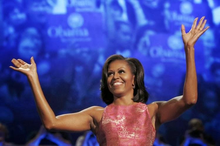 Michelle fabulosa e sua festa dos cinquenta. Só entrou quem era pop!