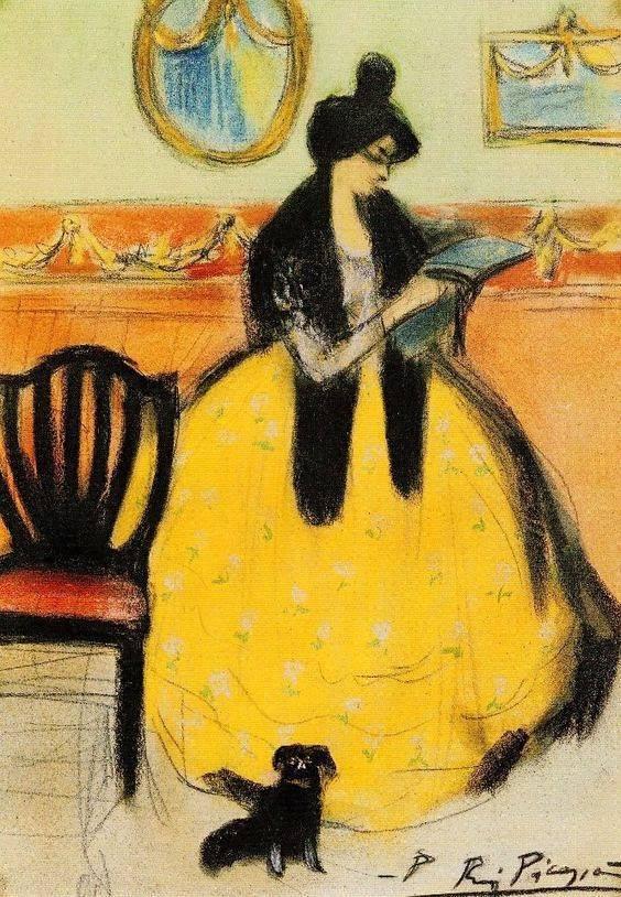 Picasso, 1900
