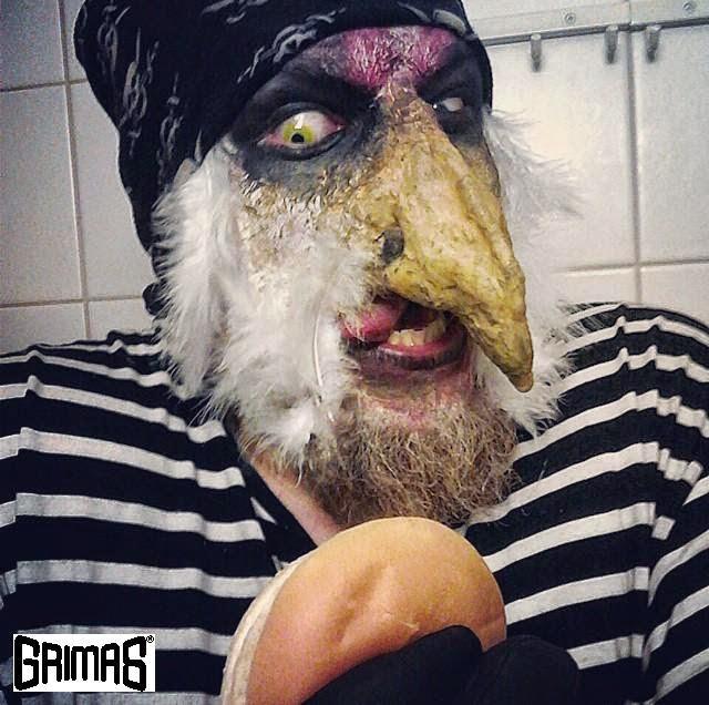 TROMA & Poultrygeist chicken tribute. Makeup FX / tehostemaskeeraus: Ari Savonen.