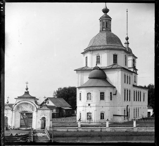Church of Krokhino in Russia before