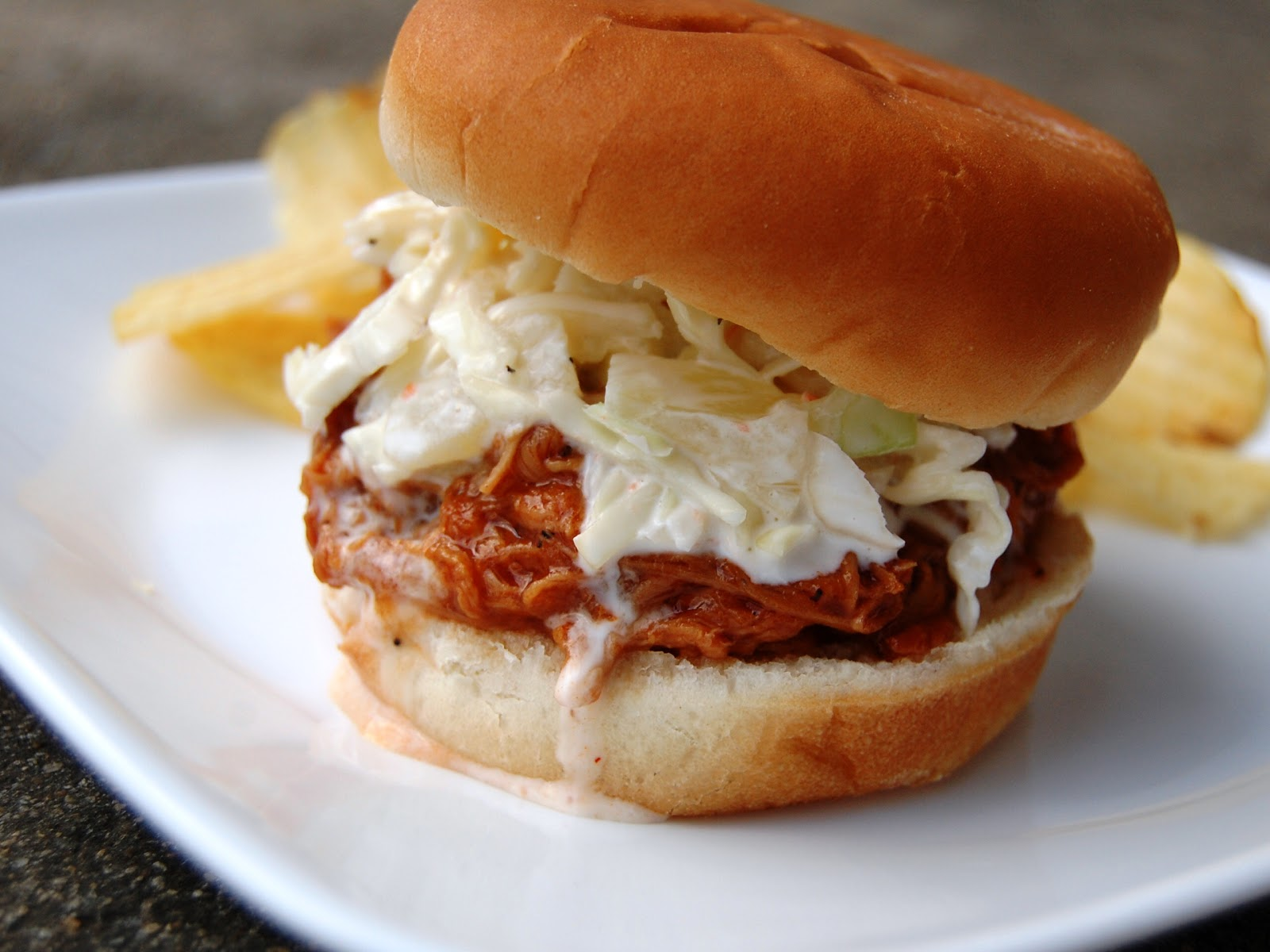 ... Craves: Pineapple BBQ Pulled Pork Sandwiches with Pineapple Coleslaw