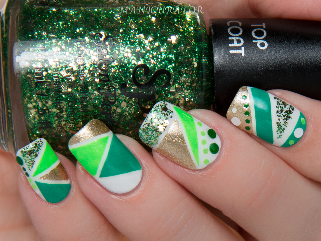 Salon Perfect St. Patrick\'s Day Nail Polish GIVEAWAY and Nail Art ...
