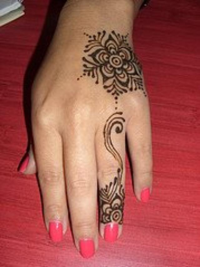 Mehndi Design Hands Marriage : Latest mehendi designs marriage henna
