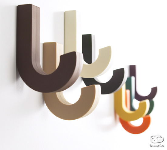 Funky Wall Hooks 15 cool wall hooks and creative coat racks - part 2.