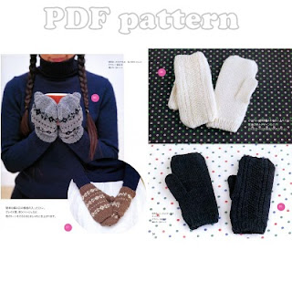 Knitting Patterns Galore - Mittens and Gloves.
