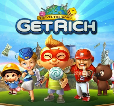 LINE Let's Get Rich V1.0.4 Apk Android Mobile Games