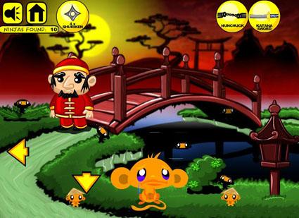 Monkey Go Happy Ninjas