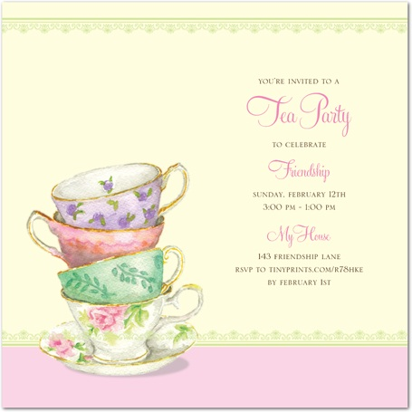 Similiar Ladies Tea Program Keywords – Ladies Tea Party Invitations