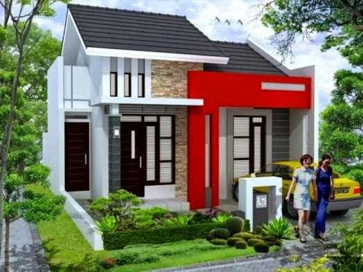 Gambar model exterior desain rumah minimalis