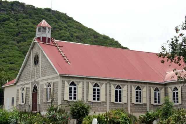 Iglesia en Antigua