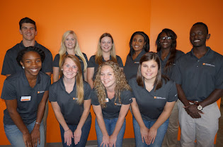 Hi, we are the PCAs of Career Services!