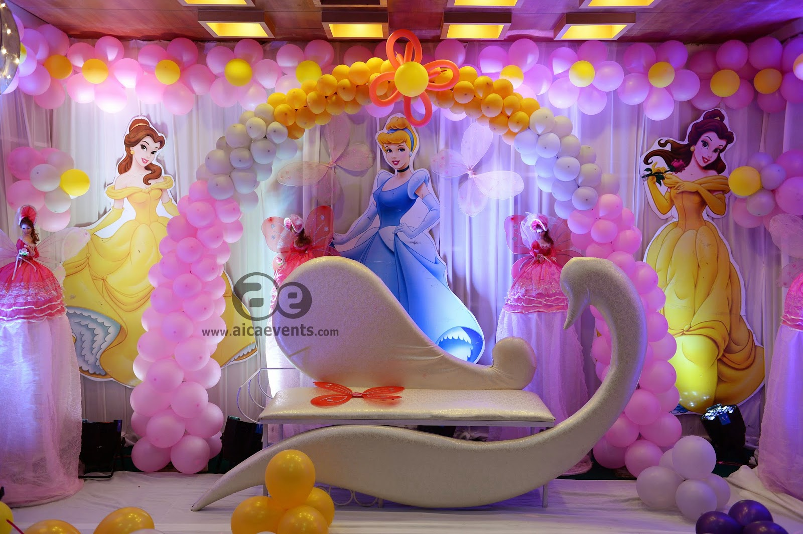 Aicaevents india barbie theme decorations by aica events for Decoration barbie