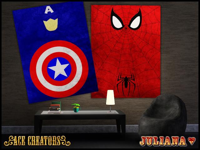 Minimalist Superhero Posters by Juliana Screenshot-31