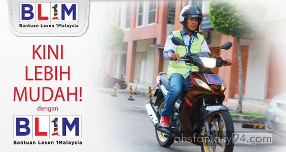 Bantuan Lesen 1 Malaysia 2013 (BL1M)
